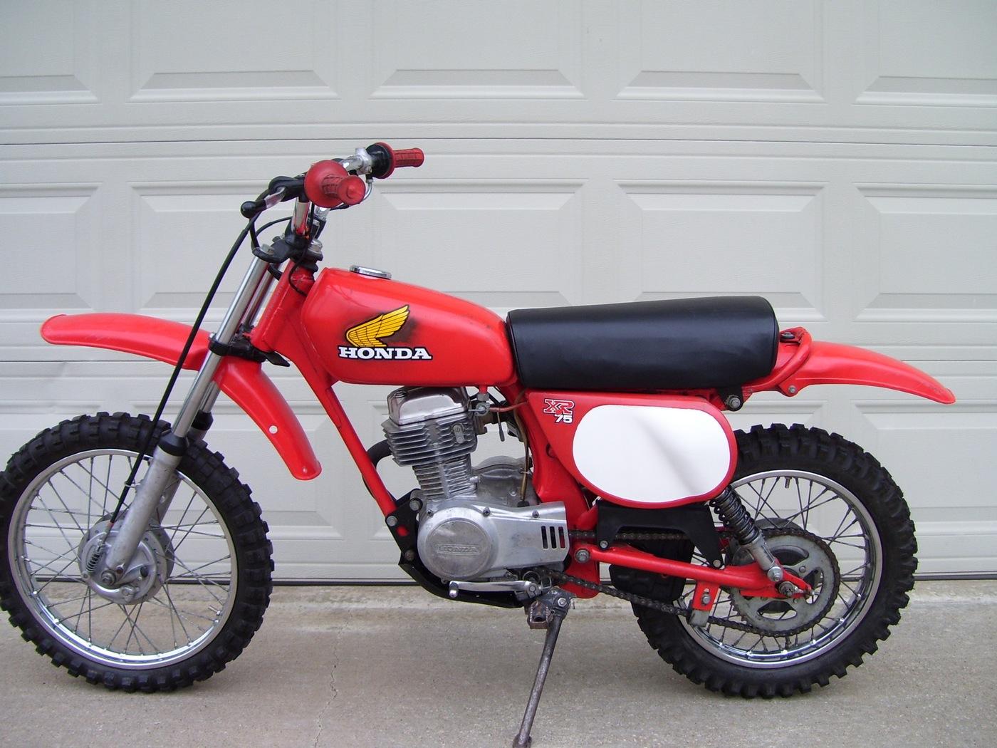 Honda Xr75 Classic Motorbikes