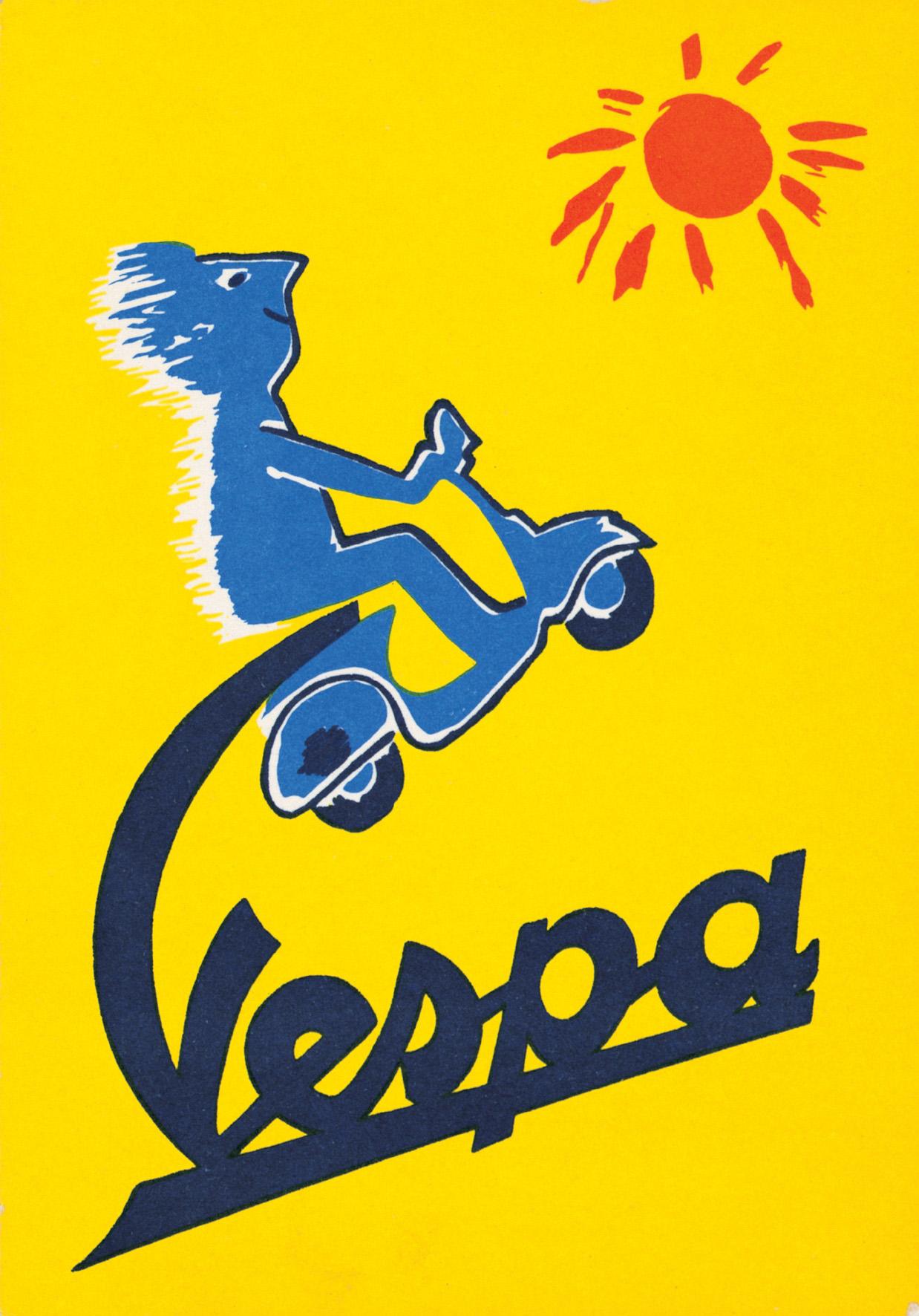 Vespa Vintage Ads | Classic Motorbikes