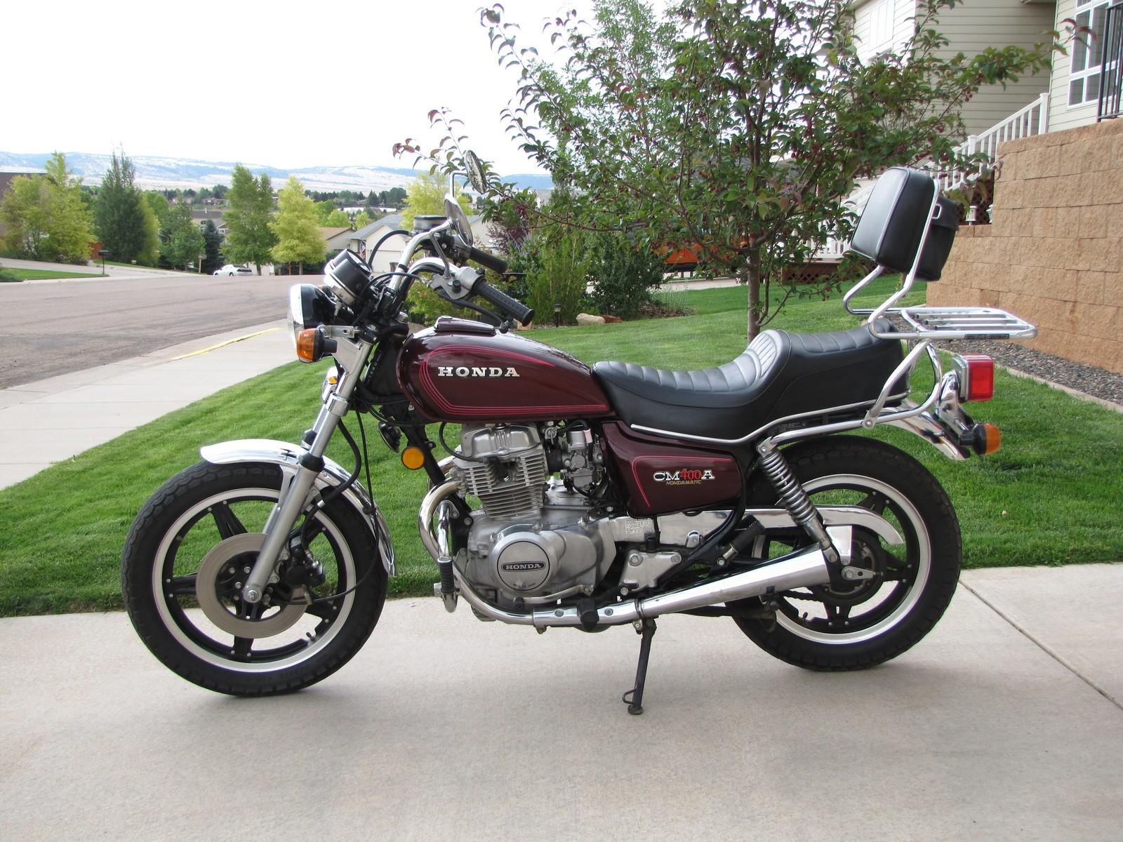 honda cm400 classic motorbikes. Black Bedroom Furniture Sets. Home Design Ideas