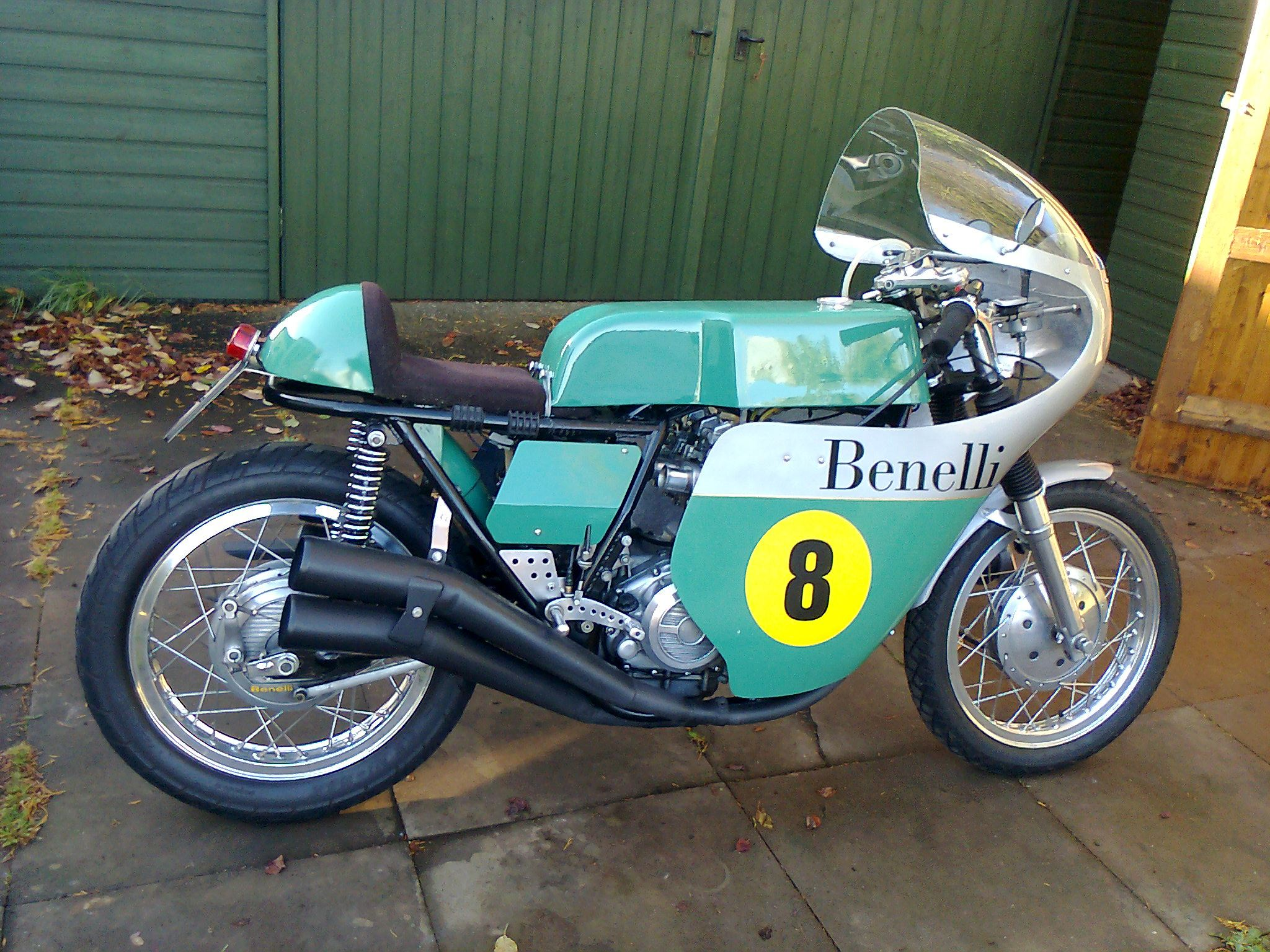 Benelli classic race bikes classic motorbikes for Classic motors for sale