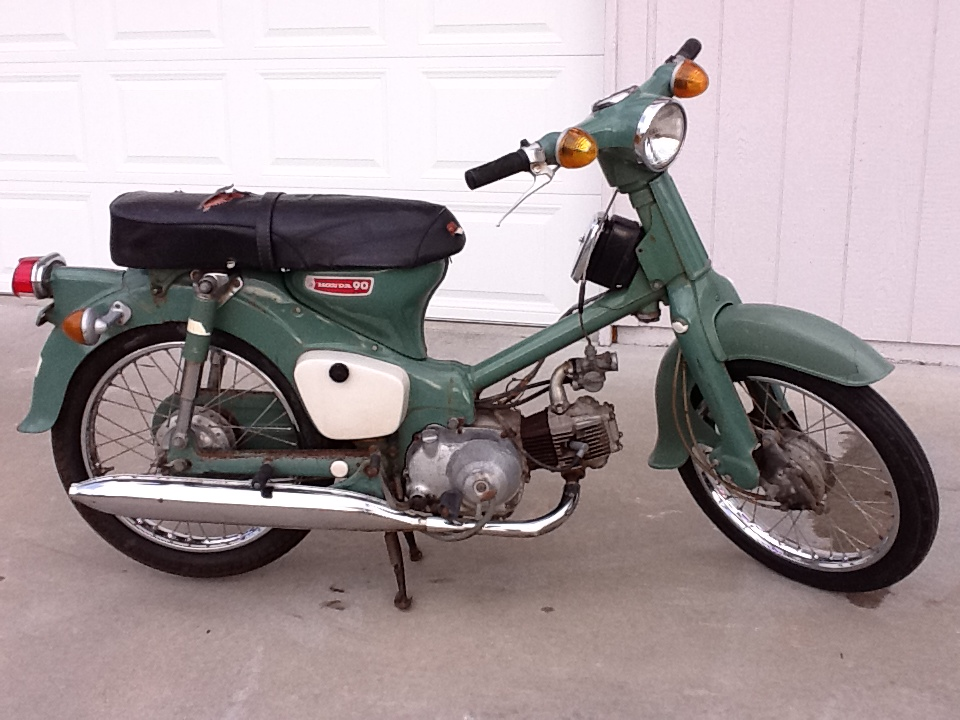 10 Most Extreme 6070s Race Bikes together with Honda C90 Cub Gallery furthermore Kawasaki Z900rs Retro Imminent also Watch likewise Yamahafs1e 1974 2. on 1966 honda motorcycles for sale