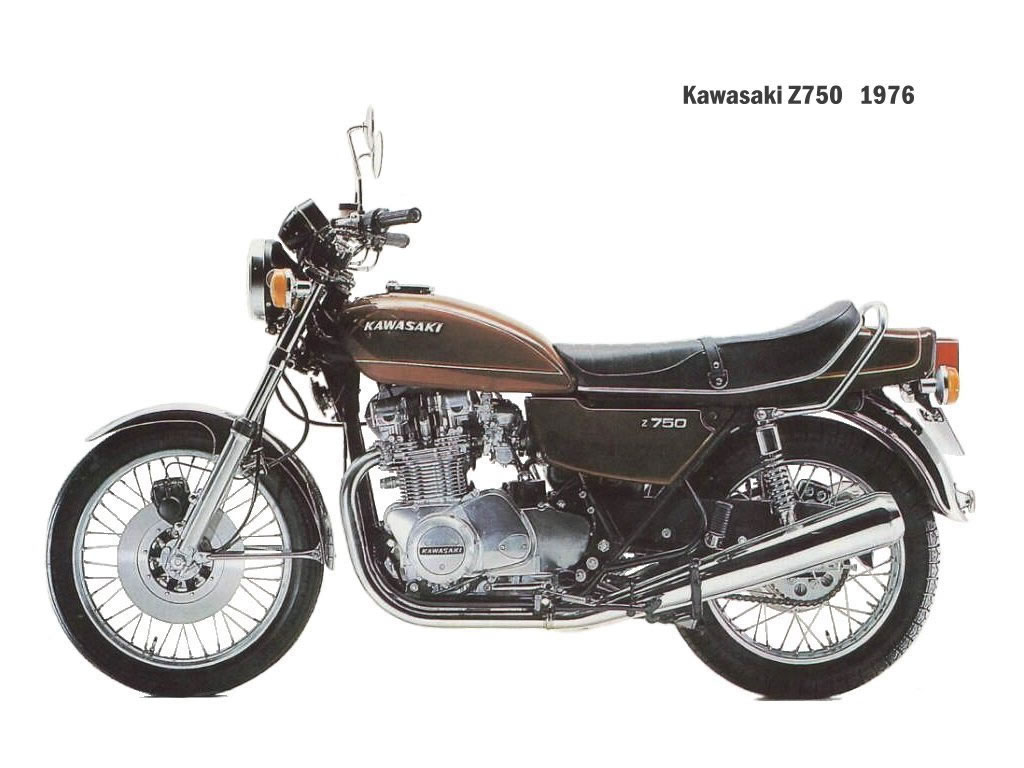 kawasaki z750 gallery classic motorbikes. Black Bedroom Furniture Sets. Home Design Ideas