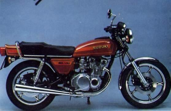 Gs E on 1979 Suzuki Gs550