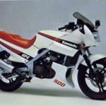 Kawasaki GPz500 Gallery