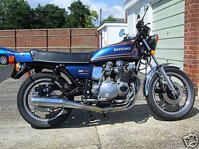 on 1980 Suzuki Gs750