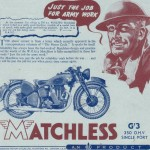 Matchless Sales Brochures