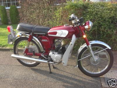Yamaha Yb100 Classic Bikes Classic Motorbikes