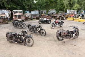 John Keeley Collection of 45 barn-find motorcycles