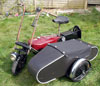 2 combination - with a period watsonian child's sidecar