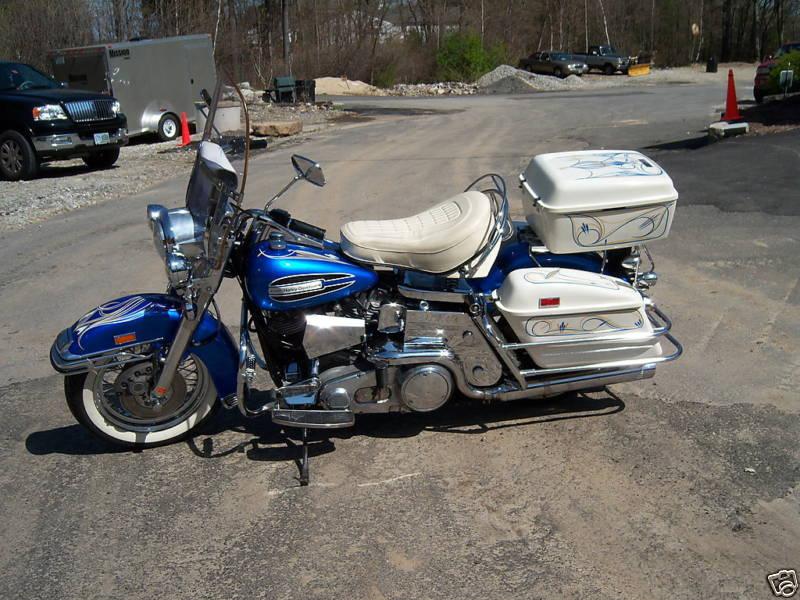 Harley Davidson FLH Classic Bikes | Classic Motorbikes