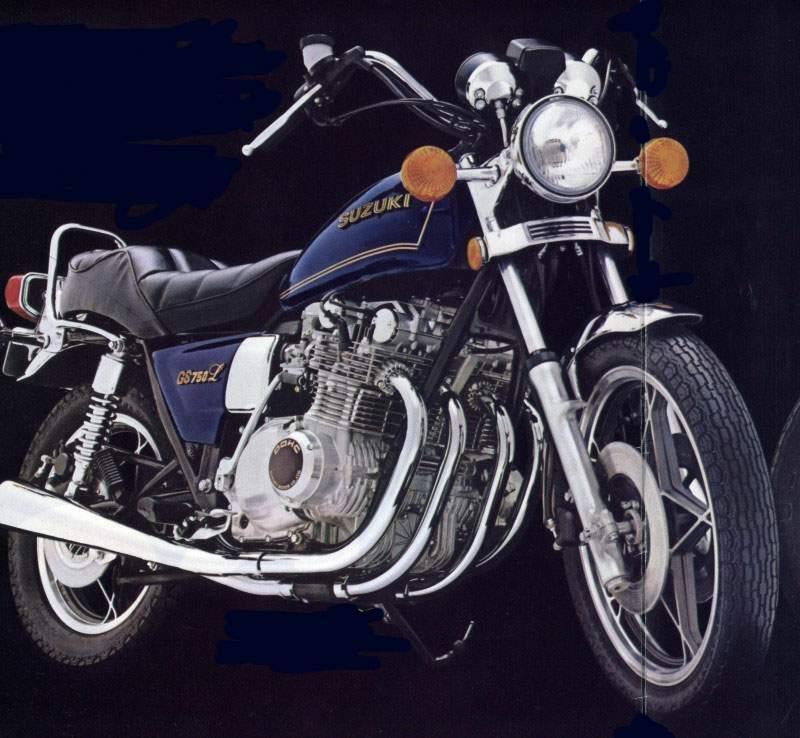 Gs L on 1977 Suzuki Gs750