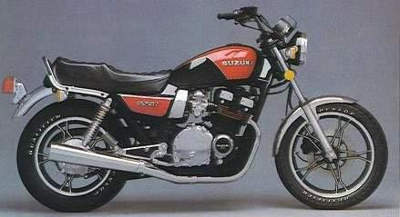 Gs T on 1978 Suzuki Gs750
