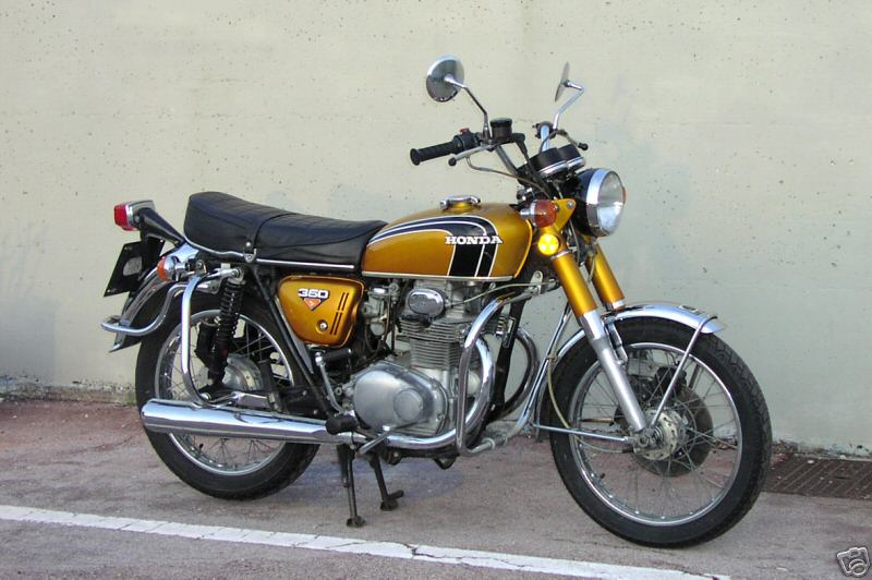 1974 350 honda scrambler