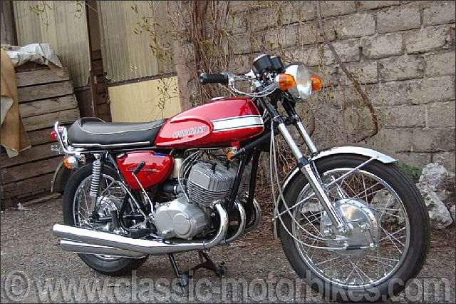 Big Four Wheelers >> Kawasaki H1 Gallery | Classic Motorbikes