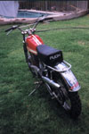 puch motocross, 175cc 1974
