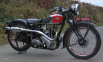 ariel red hunter - model nh, 350 cc 1937