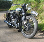 brough superior ss80 - late season 1936 model