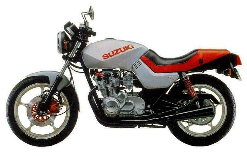 Suzuki Gs M Katana on 1981 Suzuki Gs550l