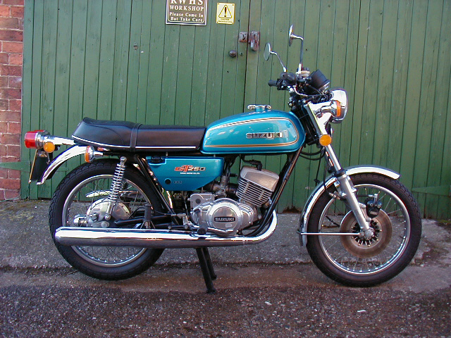 Suzuki Gt Restoration