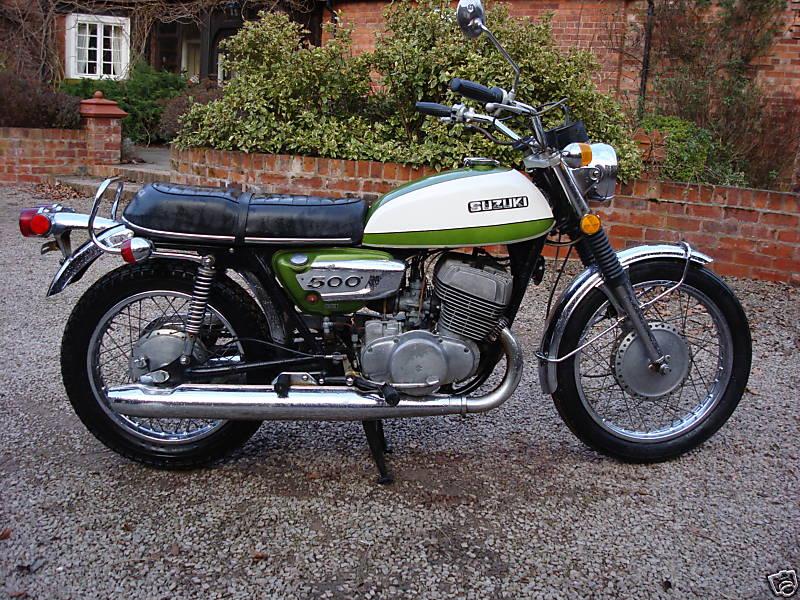 suzuki t500 gallery | classic motorbikes