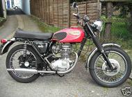 1970 BSA B25 Starfire