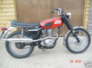 1969 Triumph Trophy 250