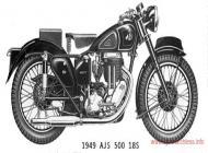 1949 AJS Model 18S