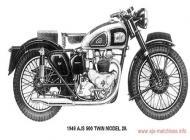 1949 AJS Model 20