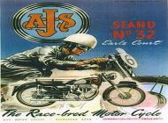 1953 AJS Poster
