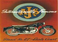 1954 AJS Advert