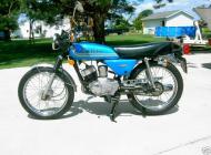 1976 Kawasaki KH100