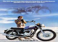 Triumph Bonneville Advert