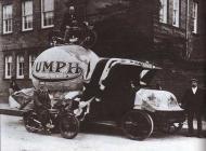 Vintage Triumph Advert