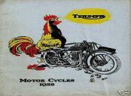 Triumph Motor Cycles Advert