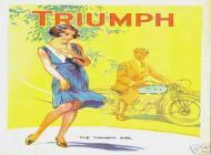 1931 Triumph Sales Brochure