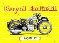1949 Royal Enfield Model J2 Advert