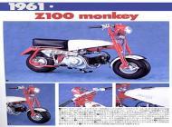Japanese Honda Z100 Monkey Bike Ad
