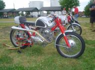 Honda CB77 Superhawk Cafe Racer