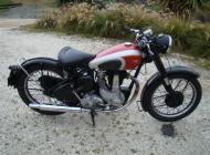 1949 BSA B33 Rigid