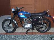 1969 BSA 250 Starfire