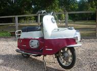 1956 CZ Cezeta Scooter