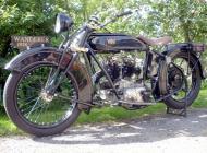 1926 Wanderer Motorcycle