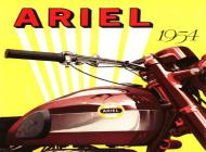 1954 Ariel Sales Ad