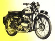1954 Ariel 500cc Hunter Twin Model KH