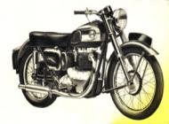 1954 Ariel 650cc Huntmaster Twin Model FH