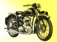 1954 Ariel 600cc Side Valve Model VB