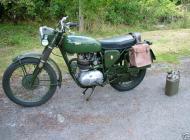 1970 BSA B40 Military