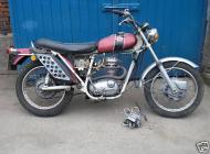 1971 BSA B25SS