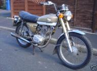1973 Honda CB125S