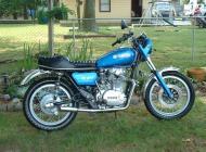 1977 Yamaha XS650SX